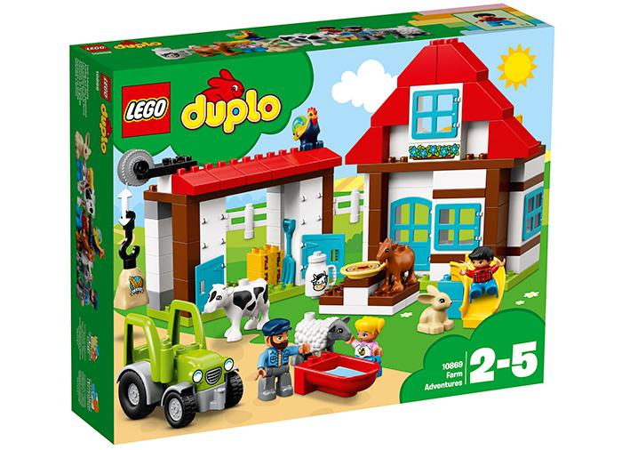 Lego aventuri la ferma
