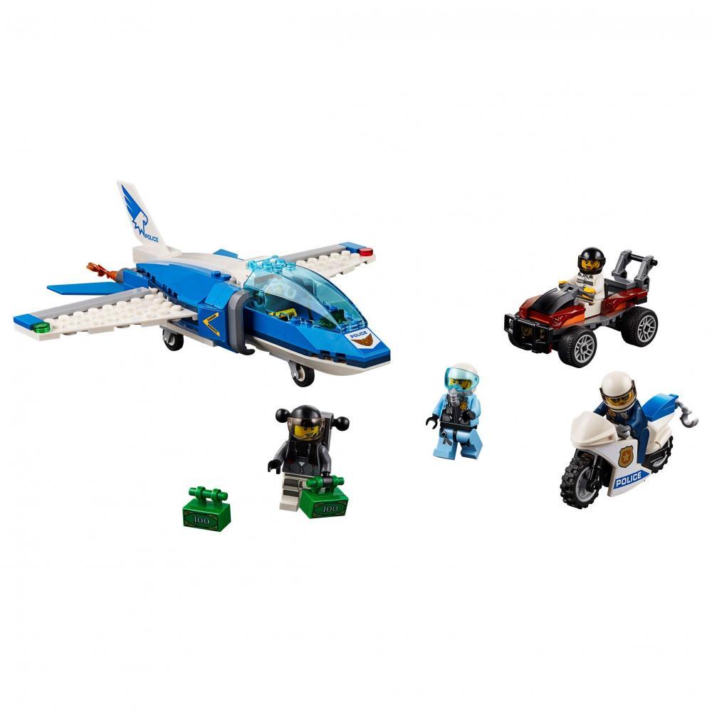 Arest cu parasutisti ai politiei aeriene Lego City