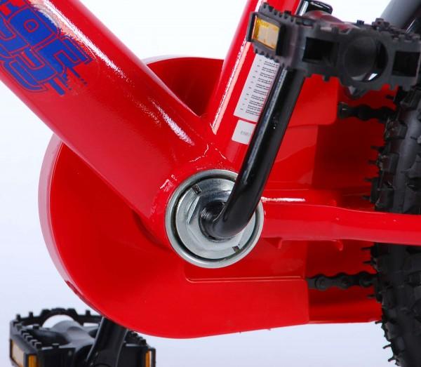 Bicicleta Volare Cars 3 pentru baieti 16 inch cu roti ajutatoare