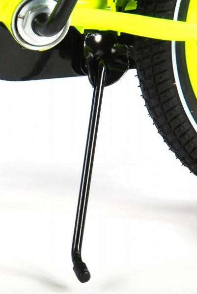 Bicicleta baieti Volare Yellow Cruiser 16 inch cu roti ajutatoare