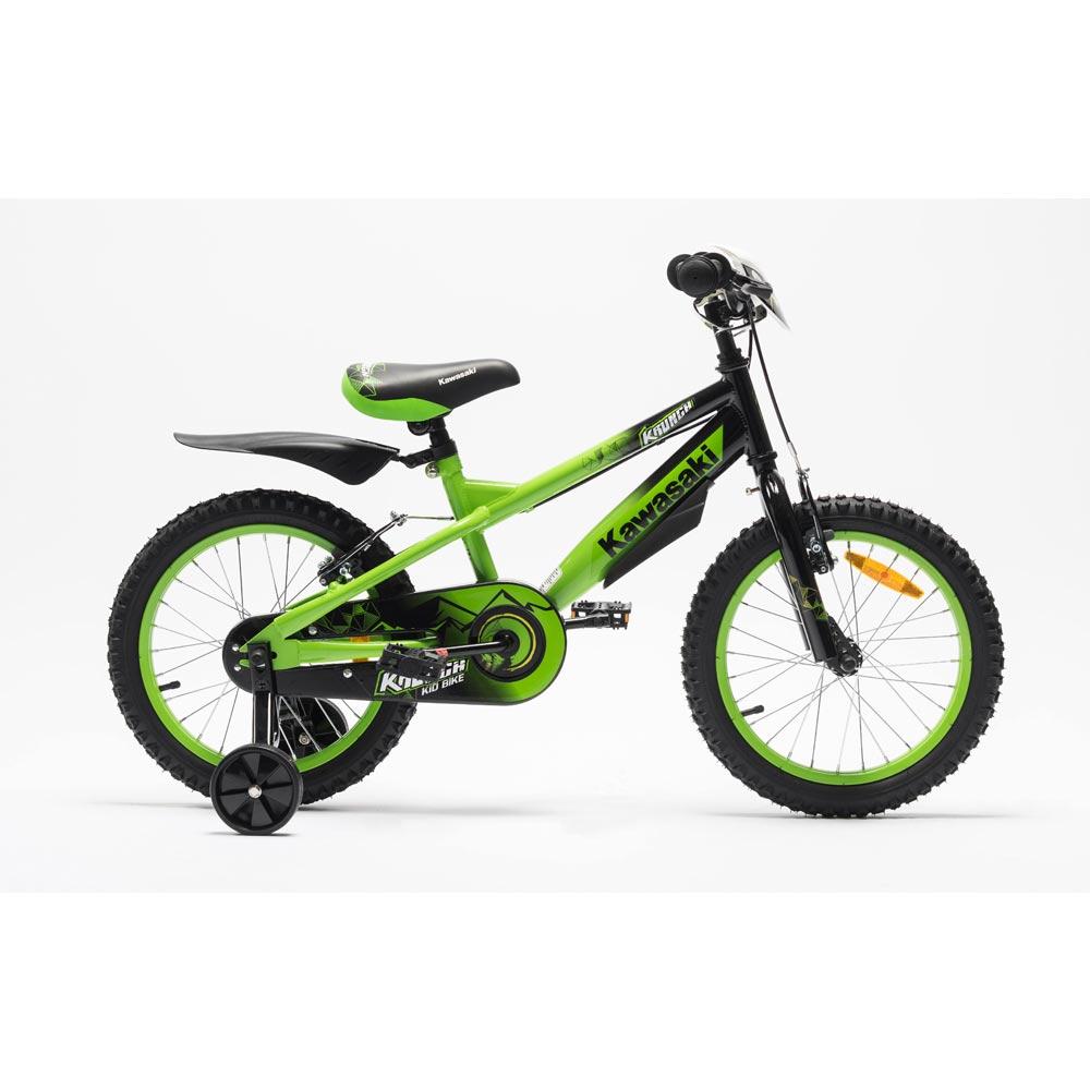 Bicicleta copii Kawasaki Krunch 16 inch green