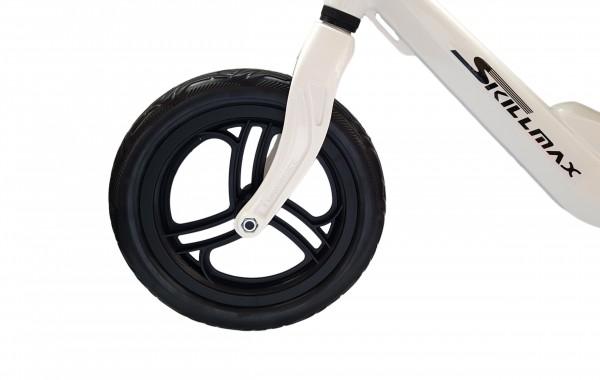 Bicicleta fara pedale 12 inch alba inaltime reglabila si roti Eva