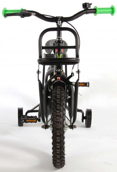 Bicicleta fete Volare Tropical 14 inch cu roti ajutatoare