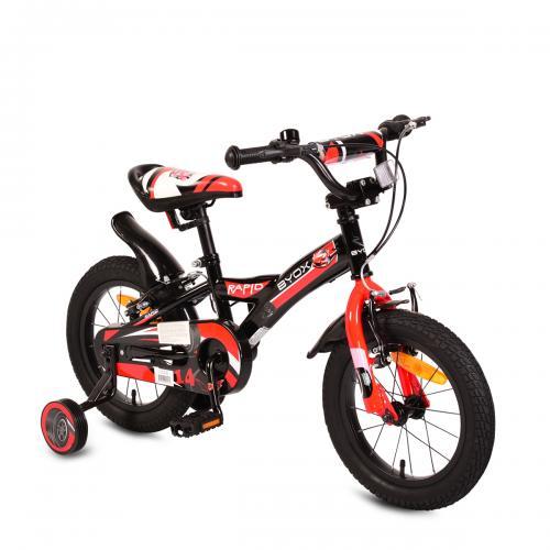 Bicicleta pentru copii Rapid Black 14 inch