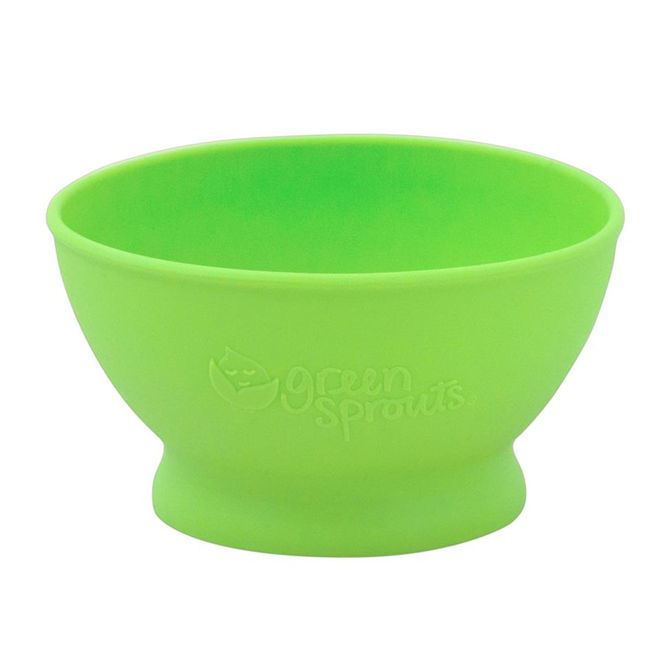 Bol de invatare Learning Bowl Green Sprouts Green