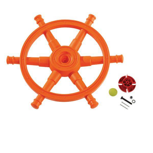 Carma stea orange-lime pentru spatiile de joaca
