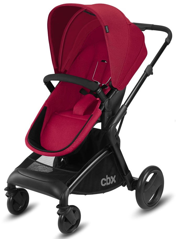 Carucior transformabil 2 in 1 Cybex Bimisi Flex Red