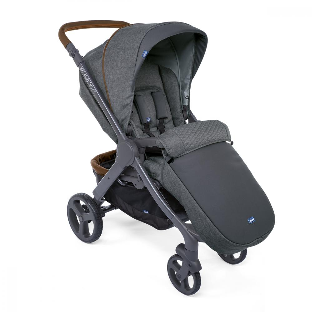 Carucior copii Chicco Duo Style Go Up Crossover Cool Grey 0luni+ imagine