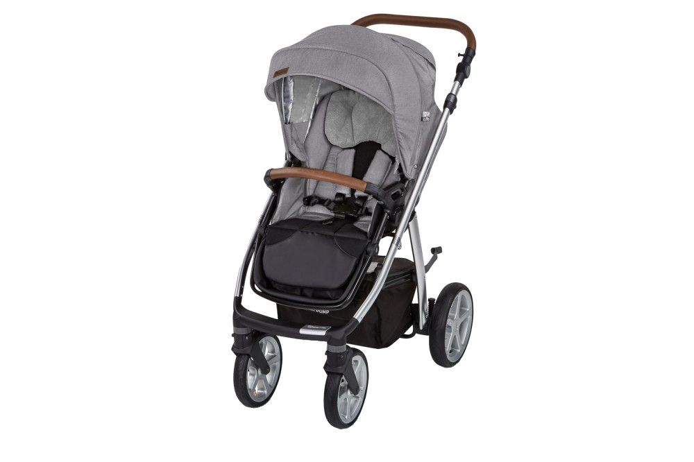 Carucior multifunctional 2 in 1 Espiro Next Manhattan 217 Alaska Grey 2019 din categoria Carucioare Copii de la Espiro