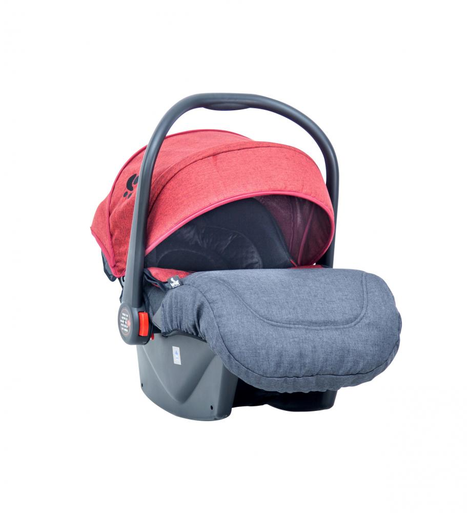Cosulet auto 0-13 Kg 2019 Pluto Black & Red