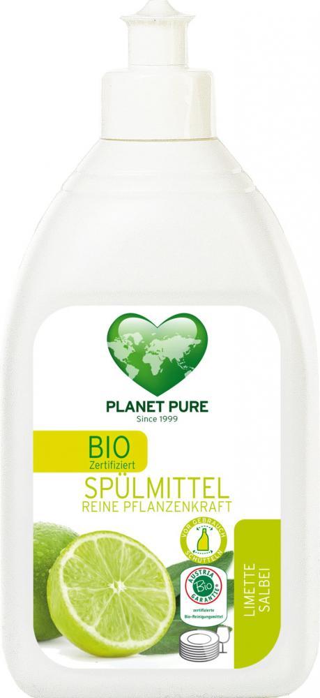 Detergent bio pentru vase lamaie si salvie Planet Pure 510ml