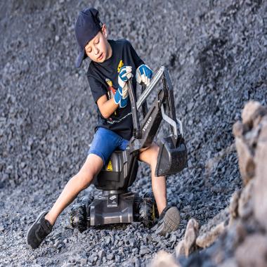 Excavator cu roti Rolly Digger Volvo ew160