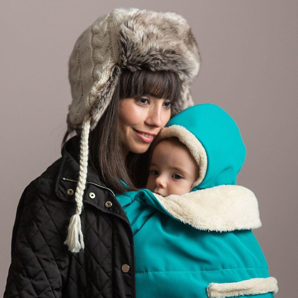 Gluga pentru protectia de iarna impermeabila Isara Wild Cherry imagine