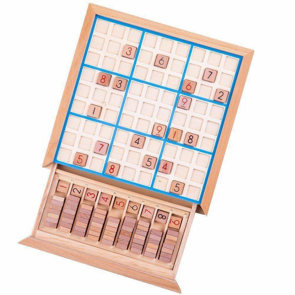 Joc din lemn Sudoku