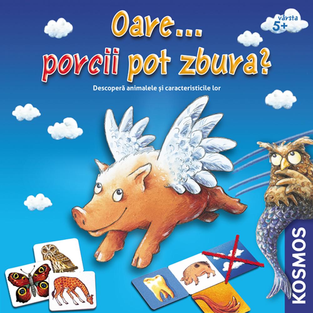 Joc educational Oare Porcii Pot Zbura