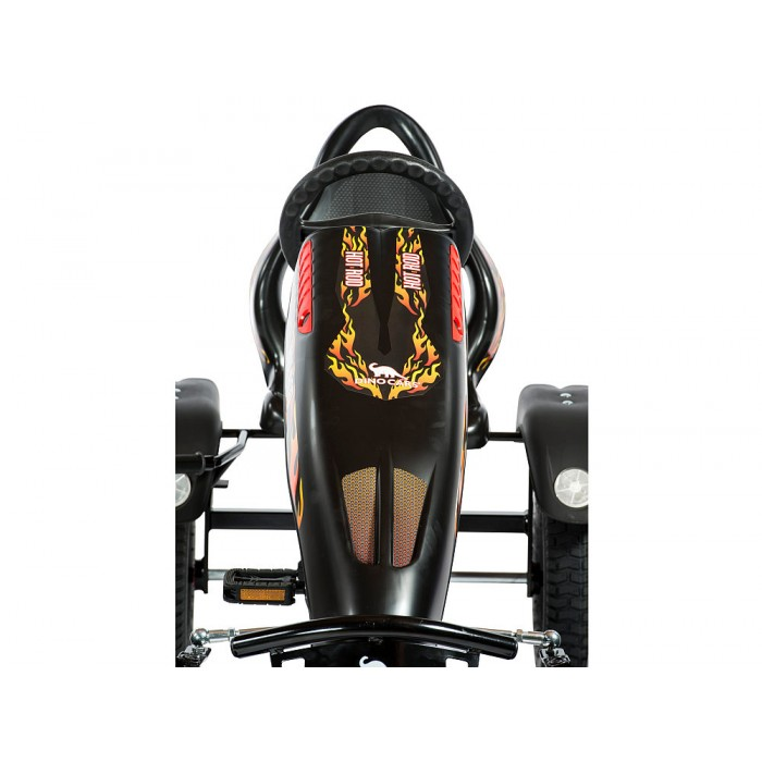 Kart cu pedale Dino Cars Hot Rod BF1 imagine