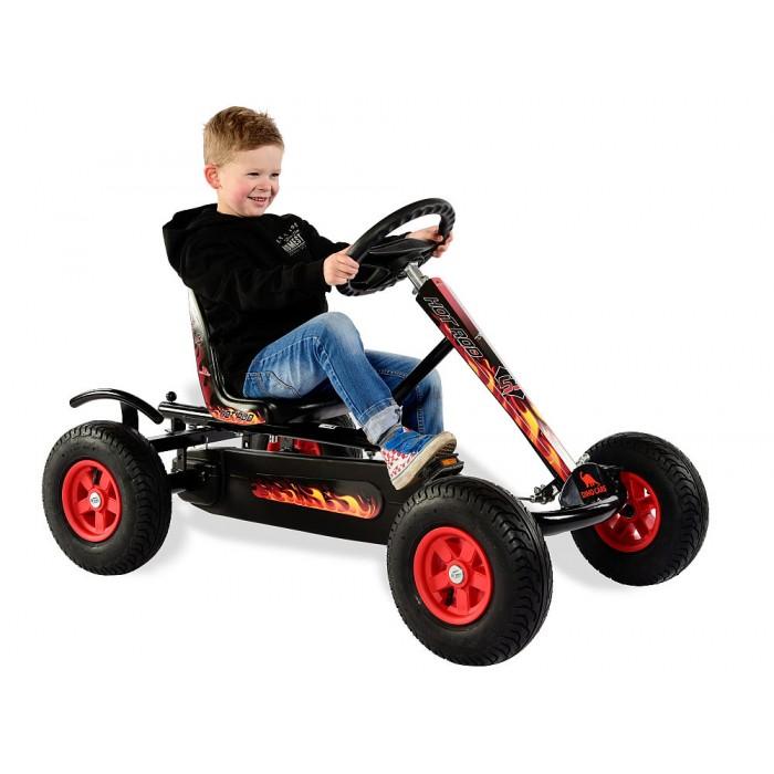 Kart cu pedale Dino Cars Junior AF Hot Rod