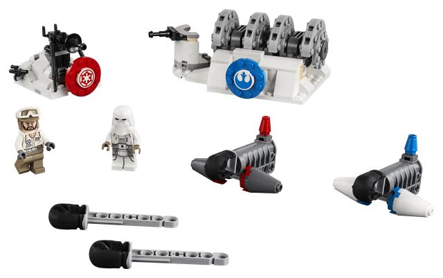Atacul Generatorului Action Battle Hoth Lego Star Wars