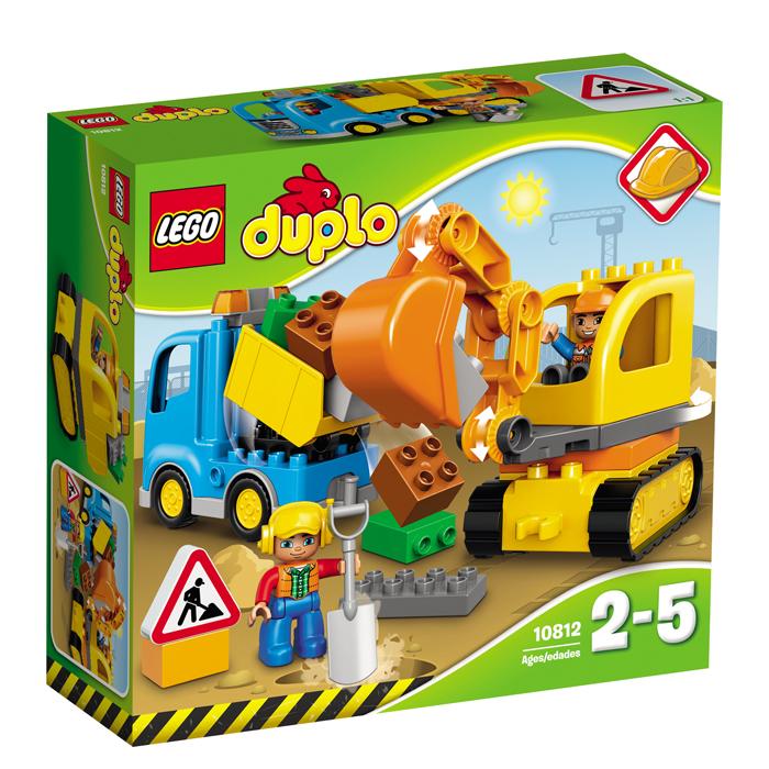 Lego Duplo Camion si excavator pe senile