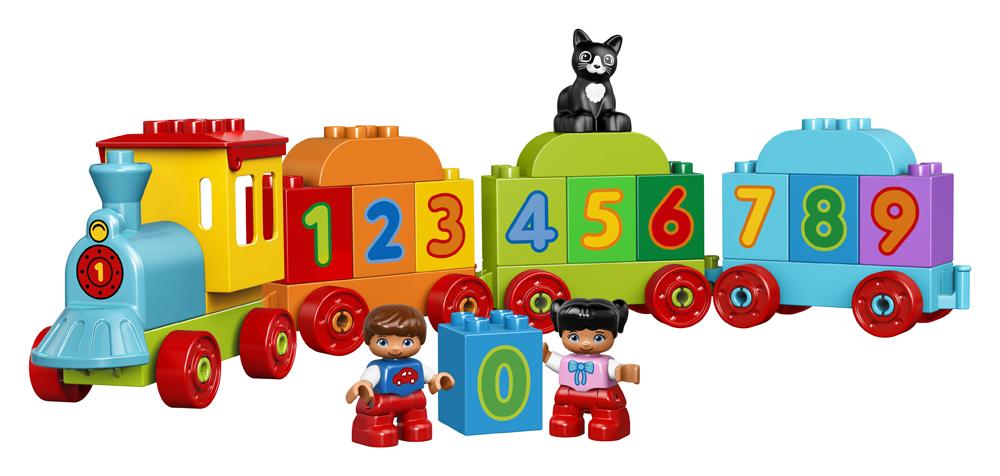 Lego Duplo Primul meu Tren cu numere