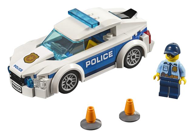 Masina de politie pentru patrulare Lego City