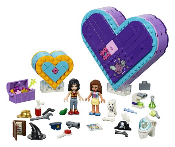 Pachetul prieteniei n forma de inima Lego Friends