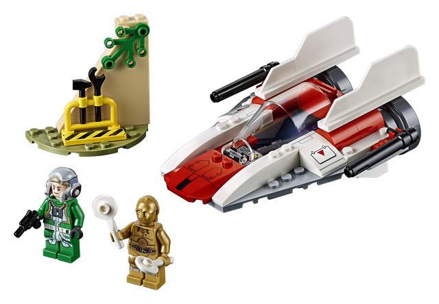 Rebel A-Wing Starfighter Lego Star Wars
