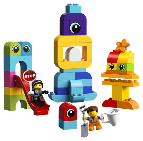 Lego Vizitatorii de pe planeta Duplo