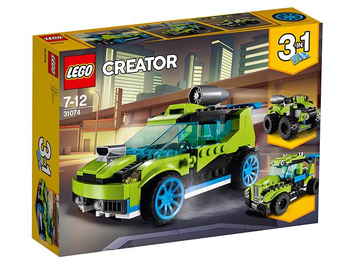 Masina de raliuri Rocket Lego Creator