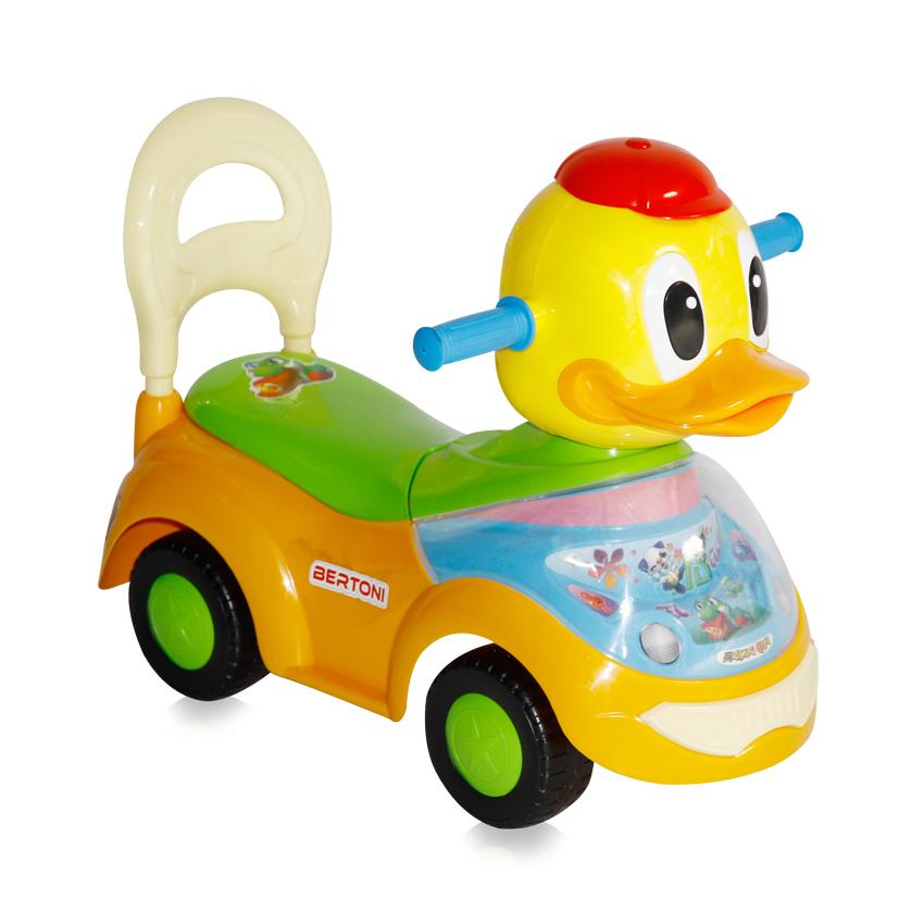 Masinuta Ride on Duck Orange din categoria La Plimbare de la LORELLI