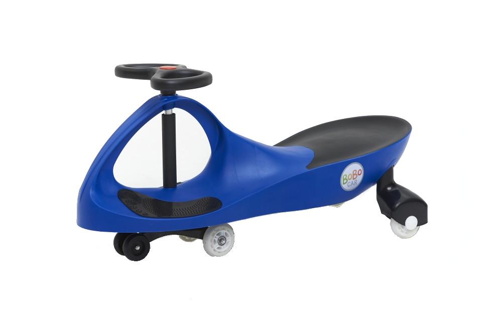Masinuta cu roti din cauciuc Bobocar Blue