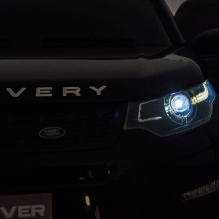 Masinuta eletrica cu telecomanda 2,4G Land Rover Discovery Black imagine