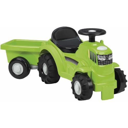 Mini Tractor fara Pedale cu Portbagaj si Remorca
