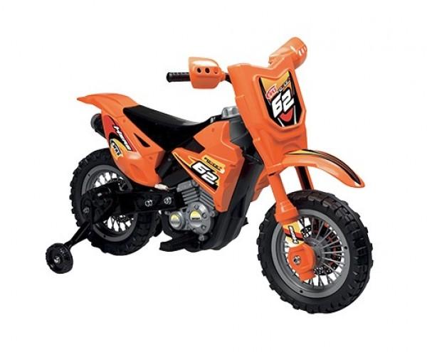Motocicleta electrica Enduro Motocross 6V portocalie imagine