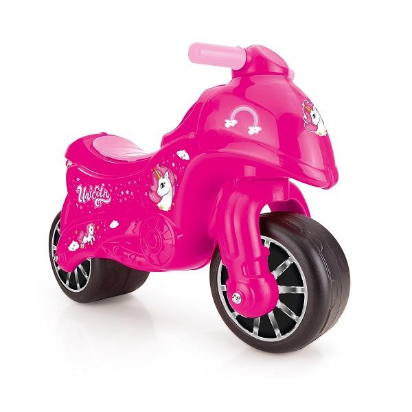 Motocicleta fara pedale roz Unicorn Dolu din categoria La Plimbare de la DOLU