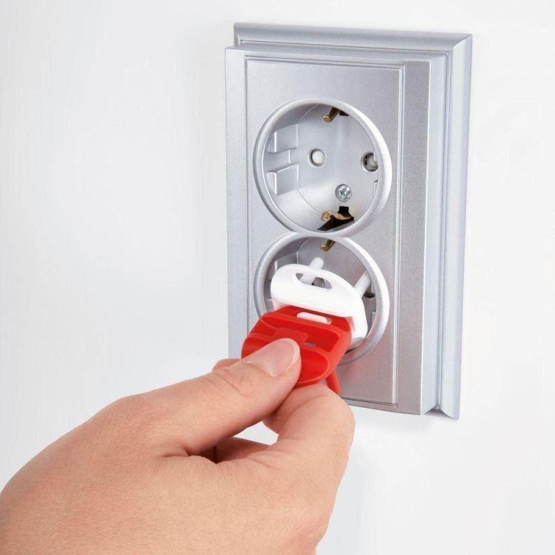 Pachet economic 36 protectii pentru prize electrice universale REER 29010 imagine