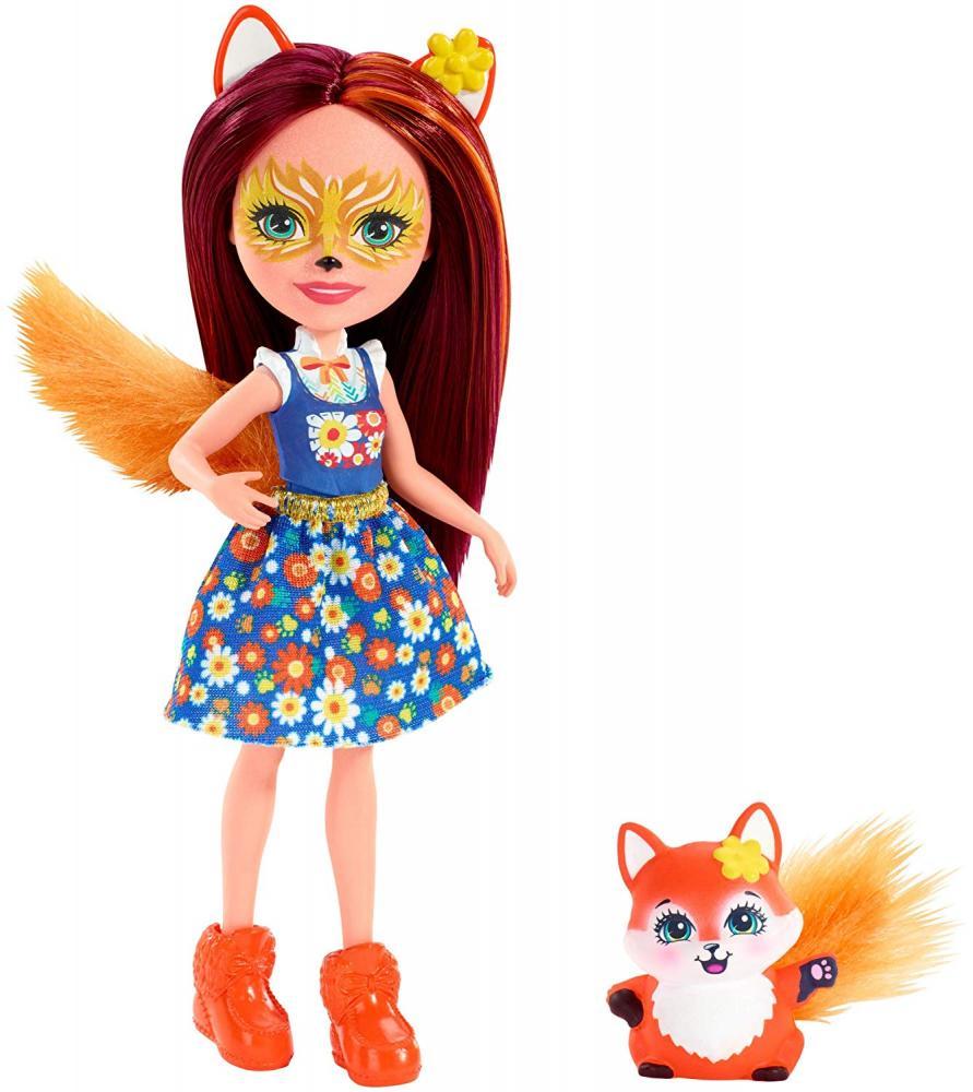 Papusa Felicity Fox si figurina Flick Enchantimals