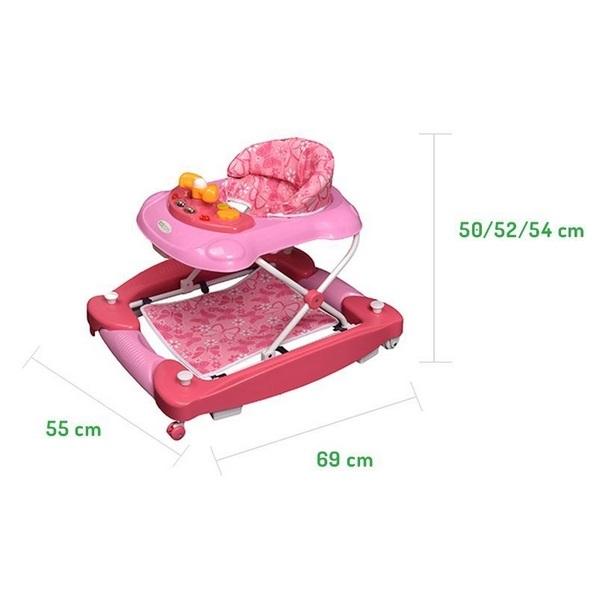 Premergator educational barca Ecotoys roz