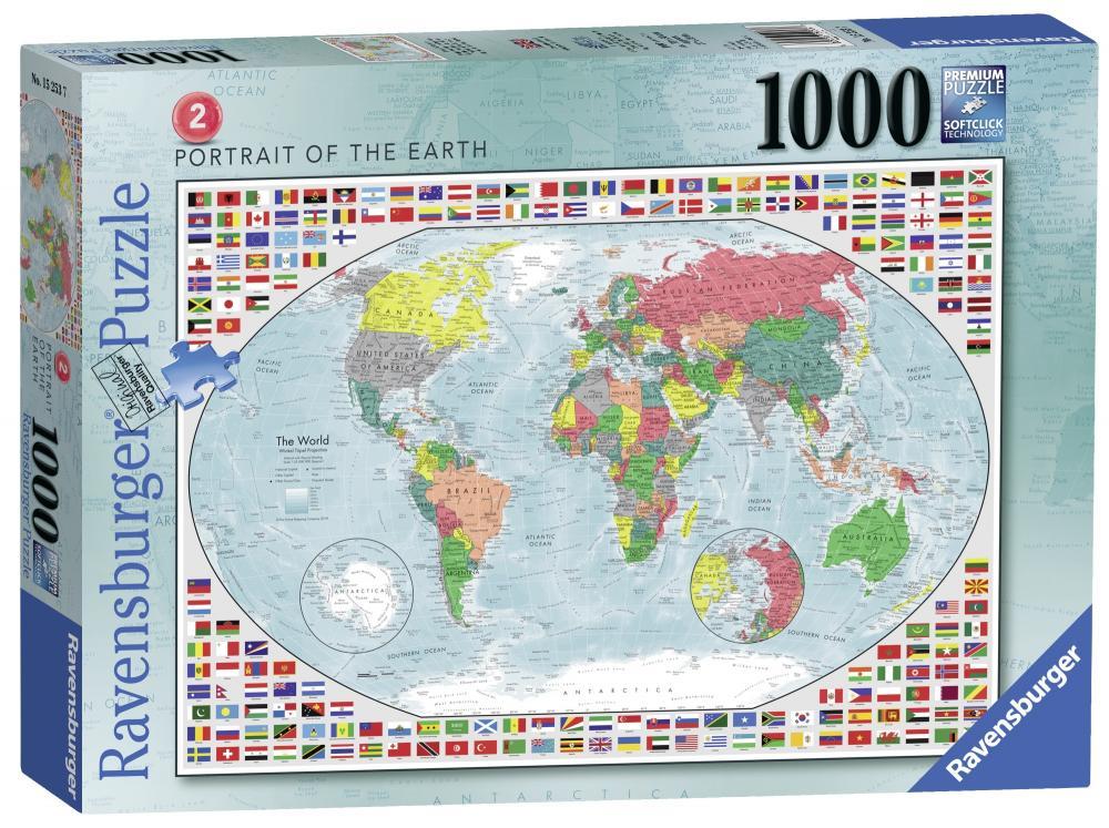 Puzzle Harta politica a lumii II 1000 piese