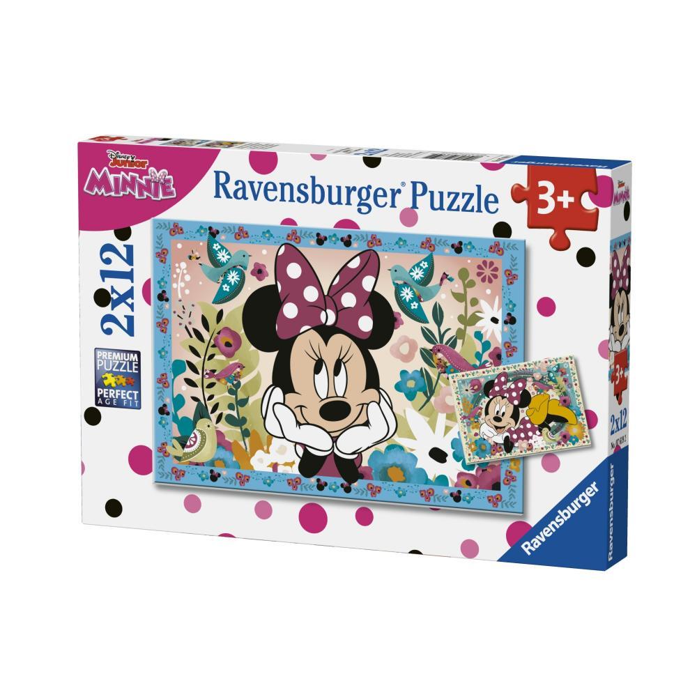 Puzzle Minnie 2x12 piese
