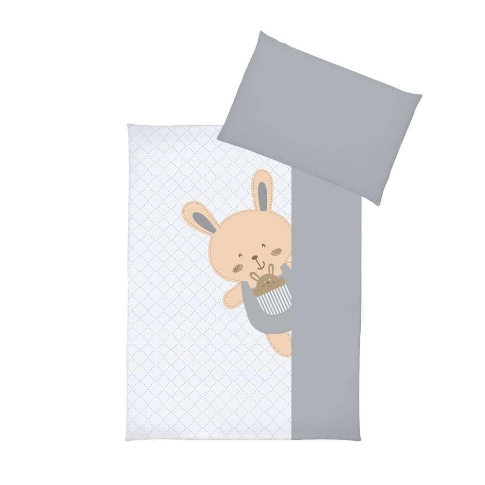 Set lenjerie imprimata 5 piese Funny Bunny