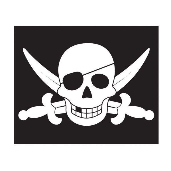 Steag cu sistem de ancorare pentru spatii de joaca