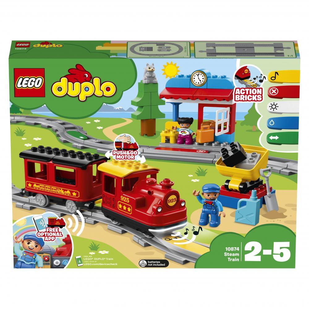 Lego Tren cu aburi