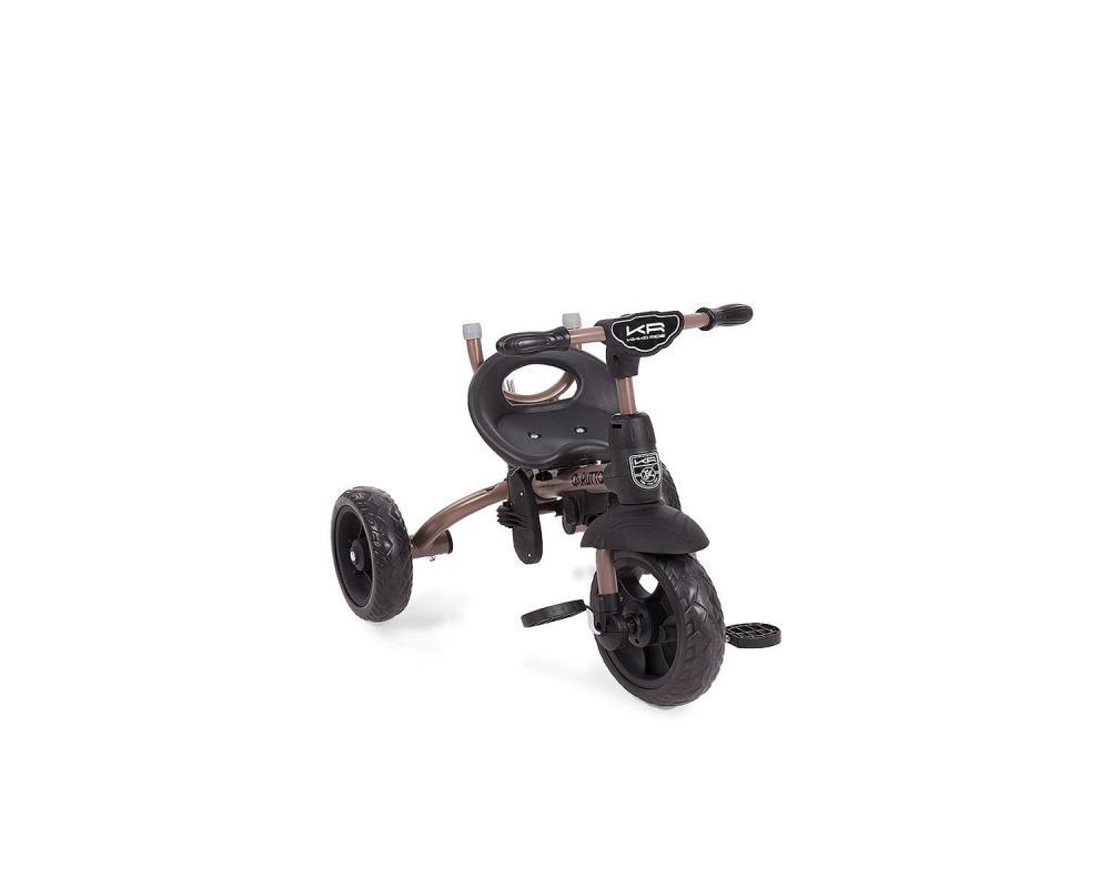 Tricicleta Cu Sezut Reversibil Carlitto Beige Melange
