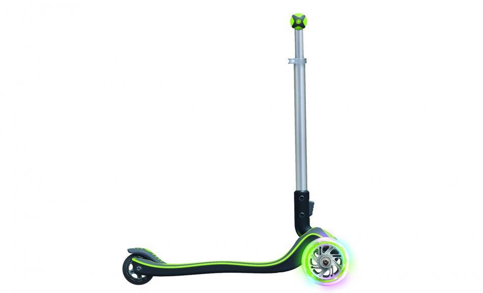 Trotineta Pliabila Elite Lights Wheels Verde
