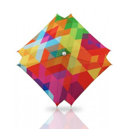 Umbrela universala pentru carucior cu protectie UV Bexa Cube Multicolour