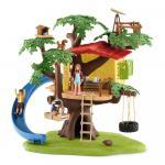 Set aventura in casuta din copac