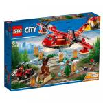 Avionul pompierilor Lego City