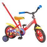 Bicicleta Volare Blaze pentru baieti 10 inch cu roti ajutatoare