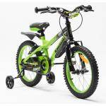 Bicicleta copii Kawasaki Krunch 16 inch green